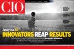CIO digital magazine November/December cover