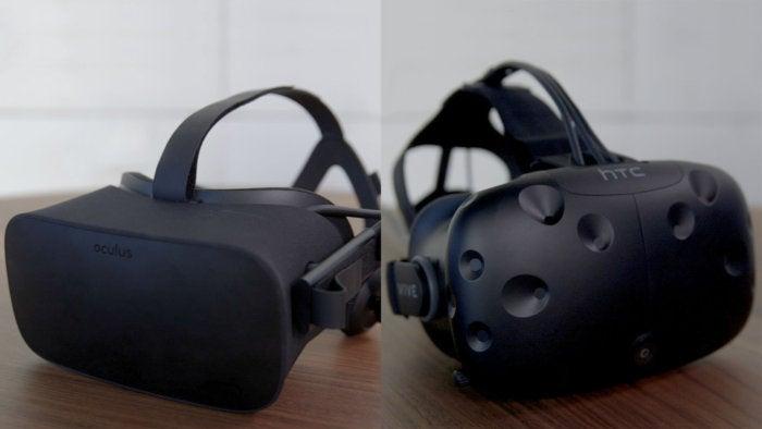 oculus rift htc vive