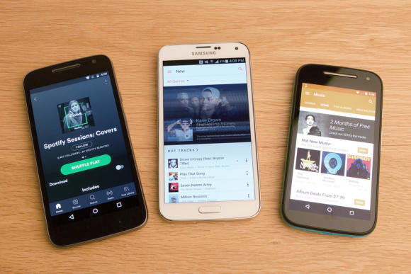 phones with streaming