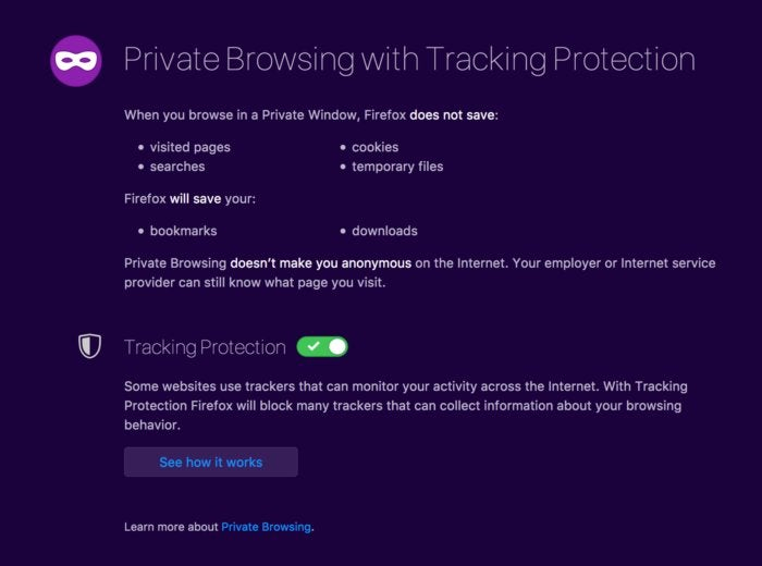 privatei firefox private browing