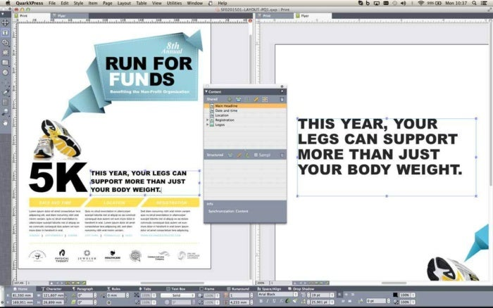quarkxpress 2016 stock