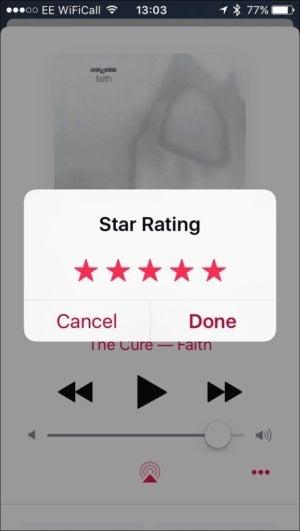 rate songs