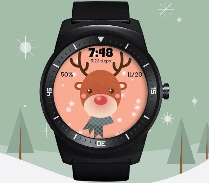Reindeer Watch Face