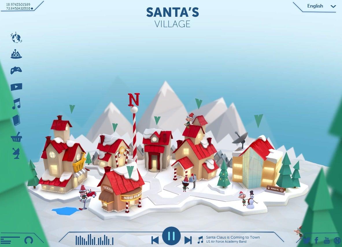 santanorad2016 - Santa Claus Christmas