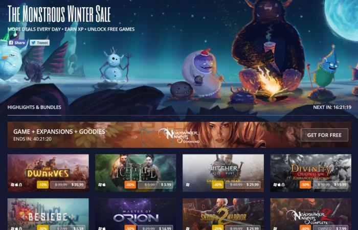 Get Neverwinter Nights for free as GOG's big Winter Sale kicks off