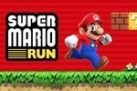 Super Mario Run appears in the Play Store with a 'pre-register' button