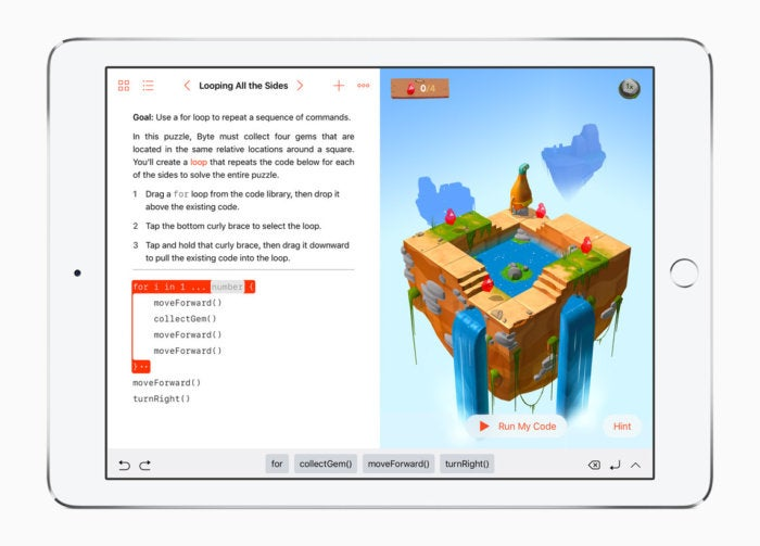 How Apple's iPad, Swift and VoiceOver teach the blind to