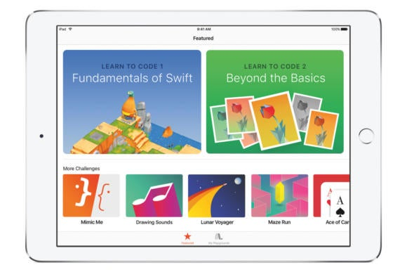 swift playgrounds ios app