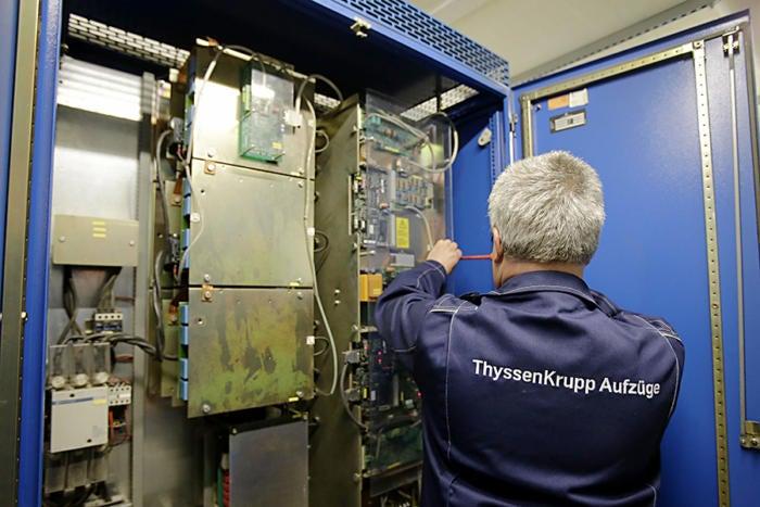 Hackers hit steel maker ThyssenKrupp.