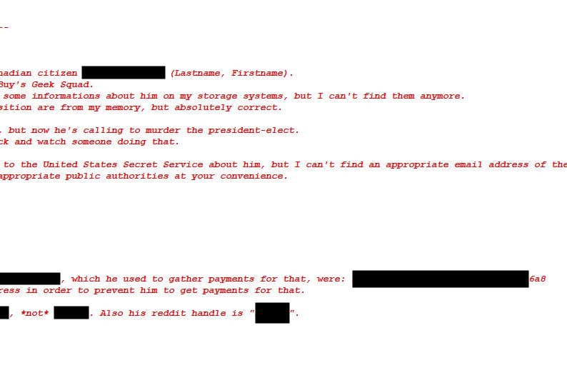 Trump assassination website source code