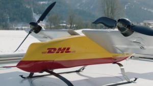 DHL Test Drone