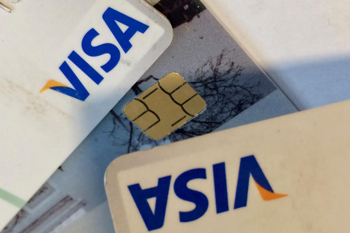 visa credit cards peter sayer
