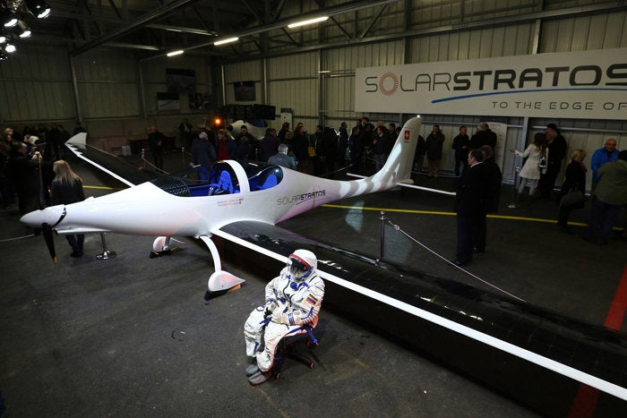 Personal solar powered aircraft