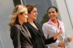 What is key to improving the ratio of women in cybersecurity?
