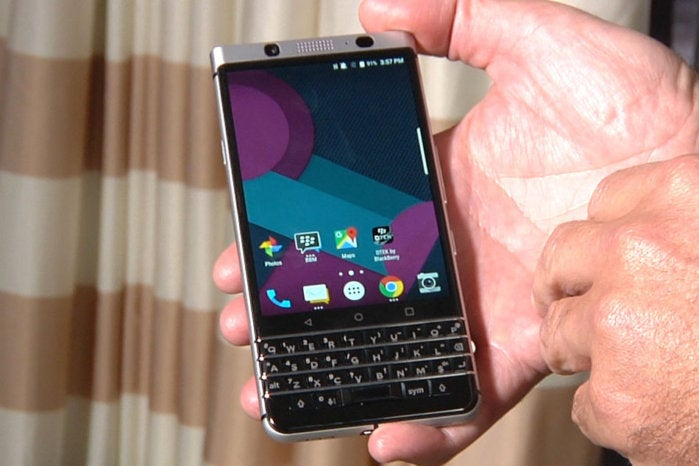 TCL targets Apple and Samsung with new BlackBerry handset running Android