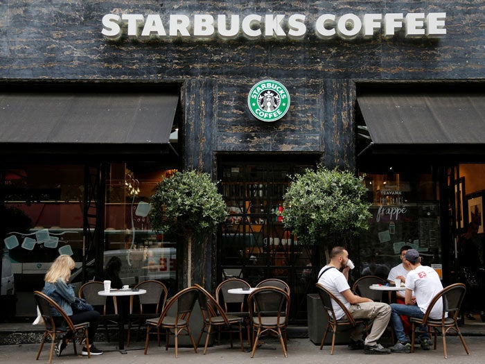 Starbucks goes public