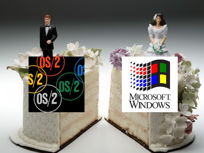 IBM and Microsoft 'divorce'