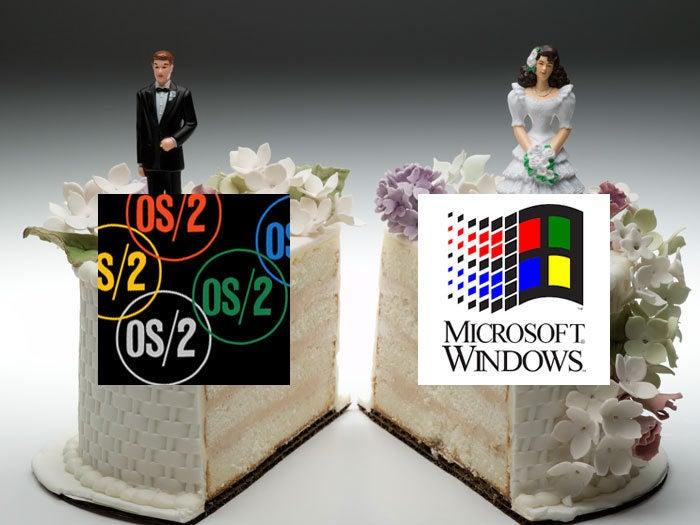 IBM and Microsoft 'divorce'