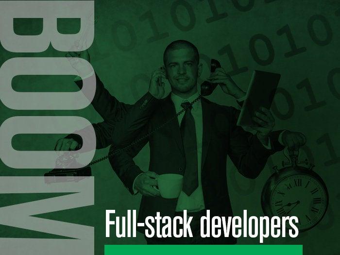 3 full stack developers