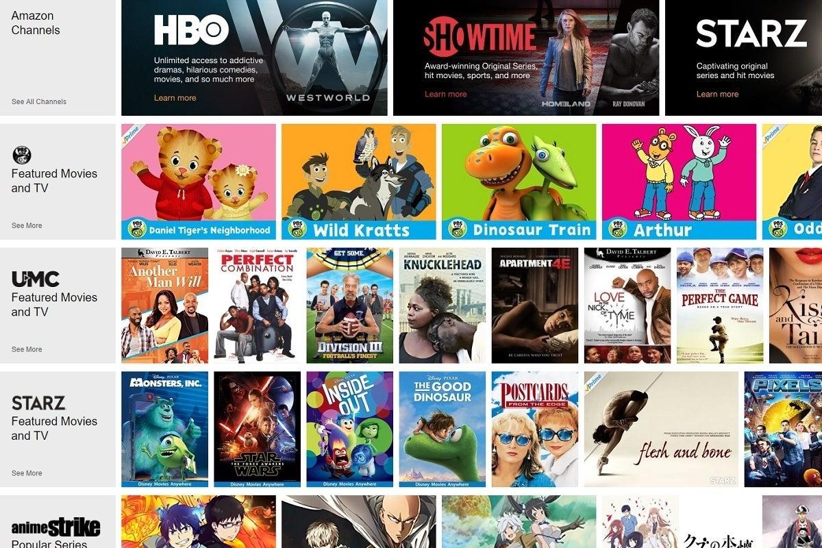 How Amazon Channels Is Building A La Carte Tv Techhive