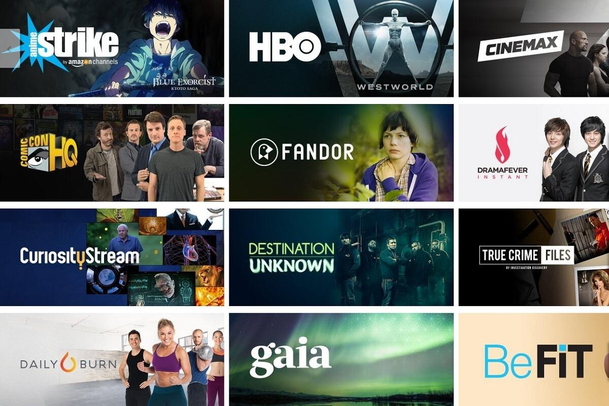 amazon channel