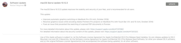app store sierra 10.12.3