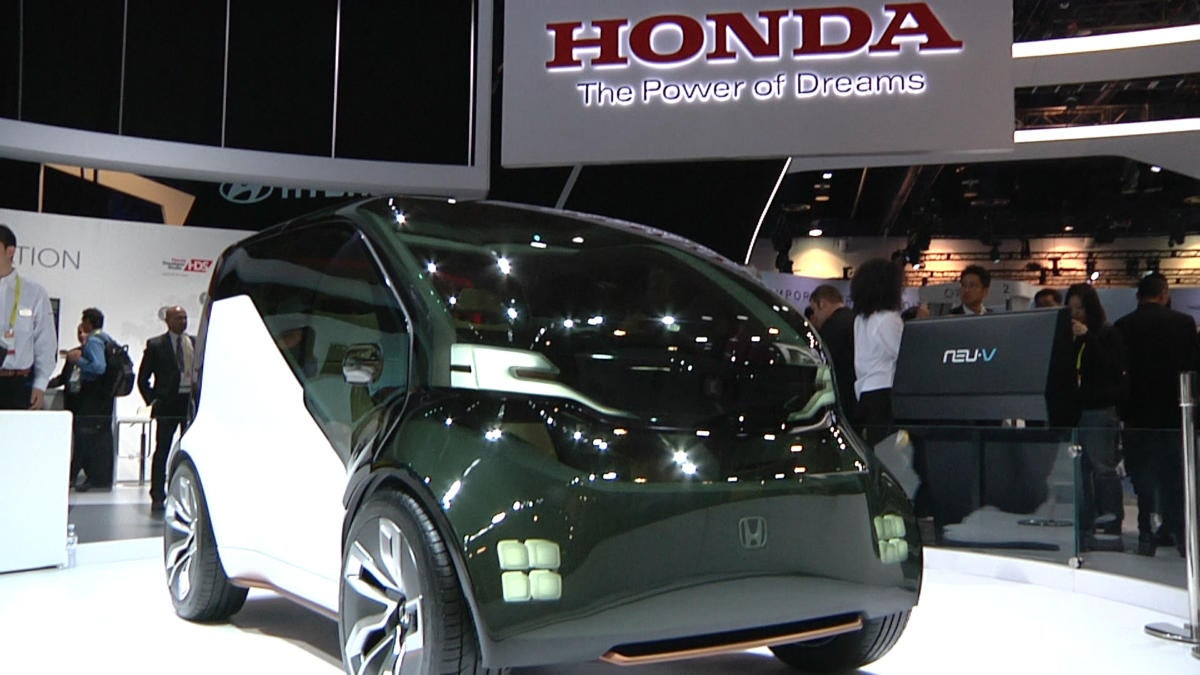 The Honda NeuV Concept Car Is A Glimpse Into Companys Future