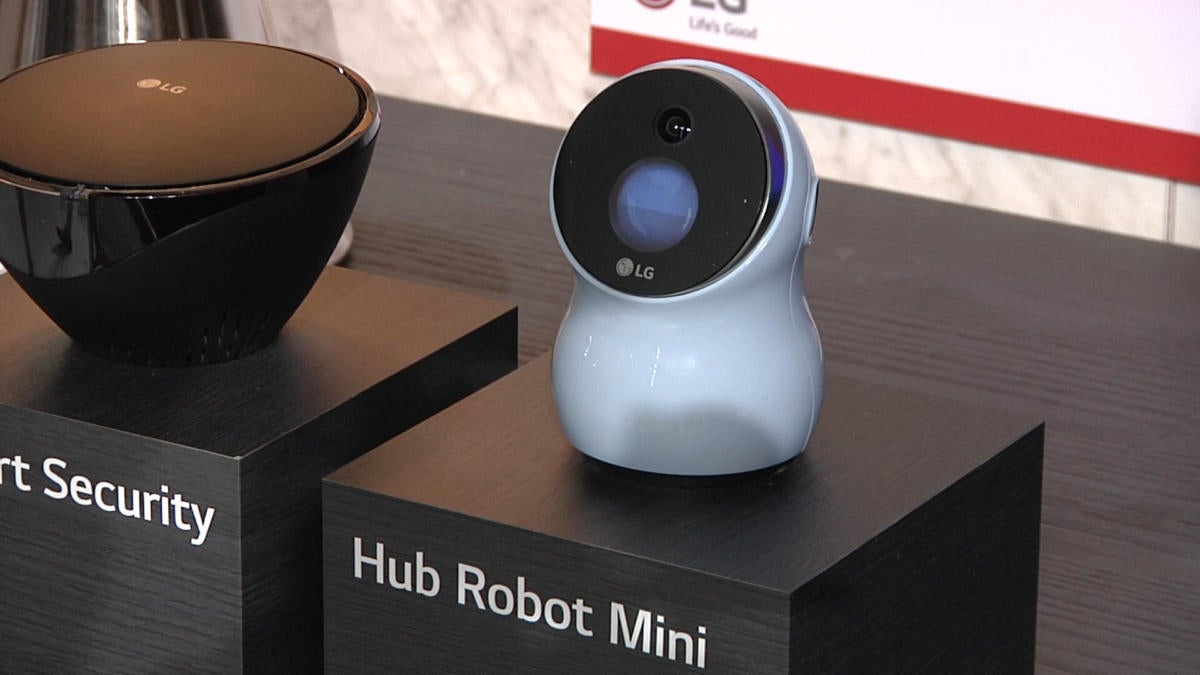 LG Hub Robot Mini