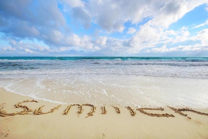 beach tide summer sand