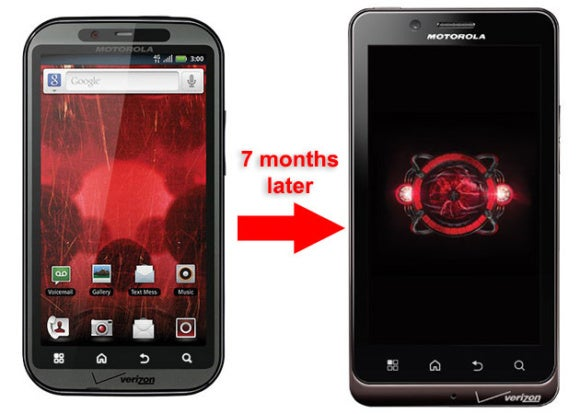 botched launches droid bionic