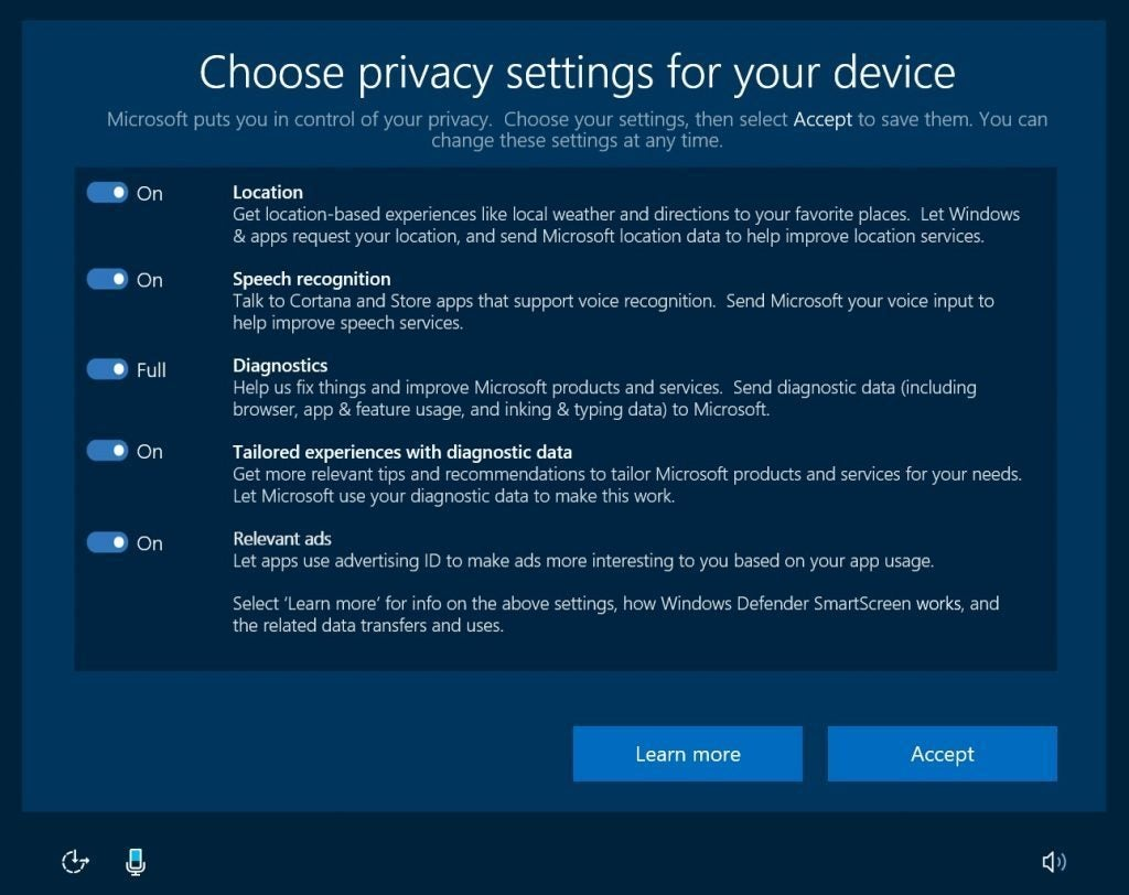 Reality check: How Windows 10's new privacy controls stack