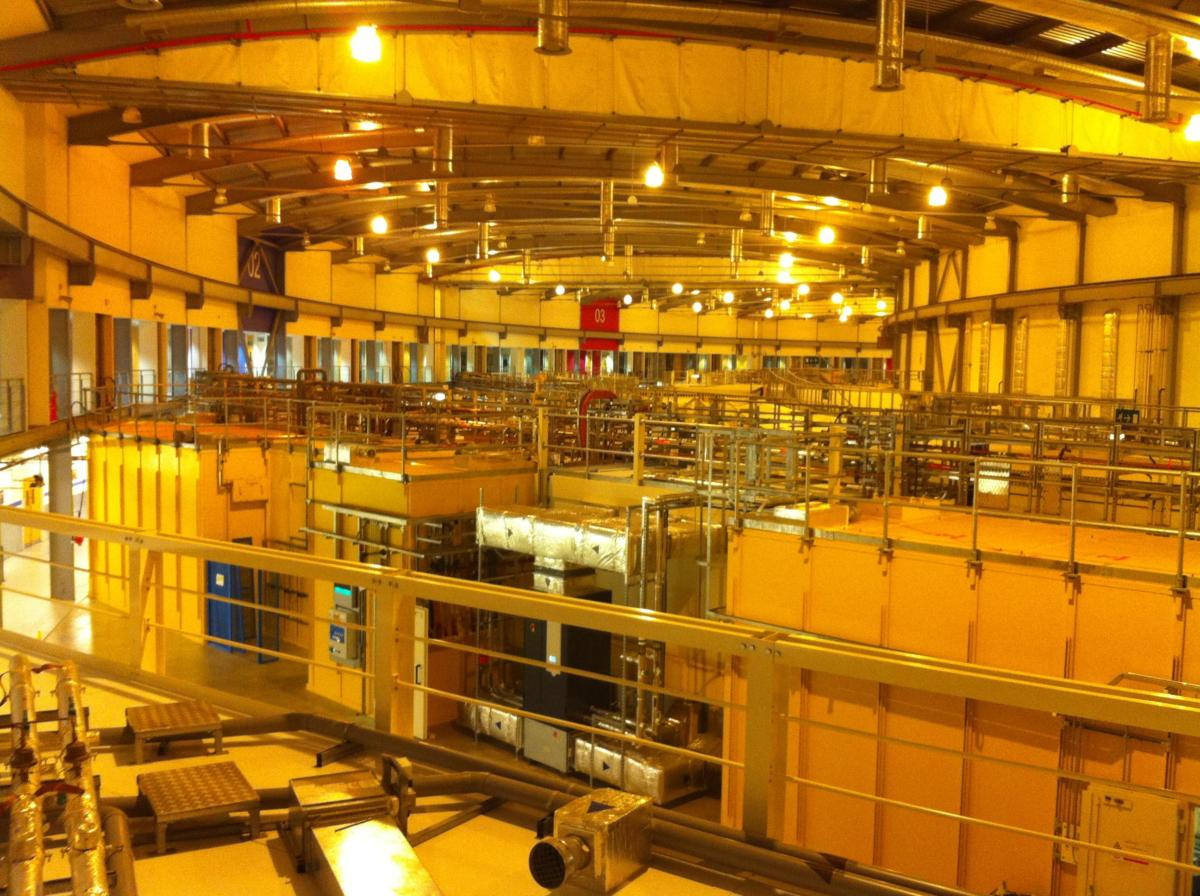 diamond light source synchrotron main chamber