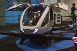 ehang 184 autonomous aerial vehicle drone