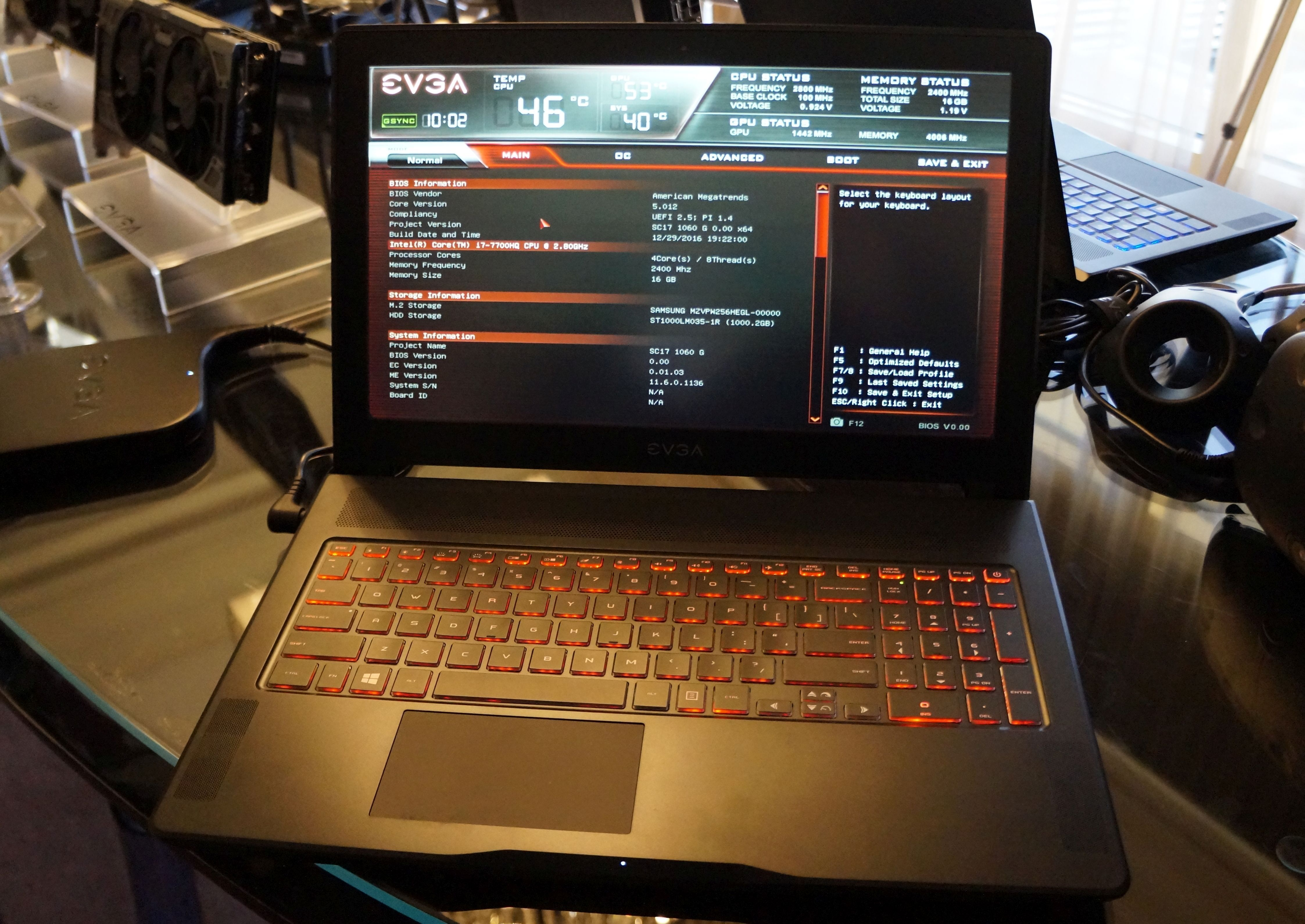 EVGA's SC-15 laptop woos gamers with a glorious 120Hz G-Sync display