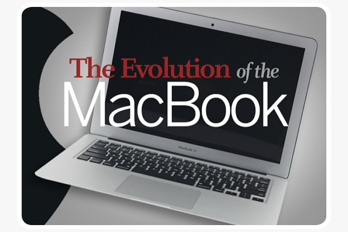 Computerworld slideshow, The Evolution of the MacBook [slide 1] - cover