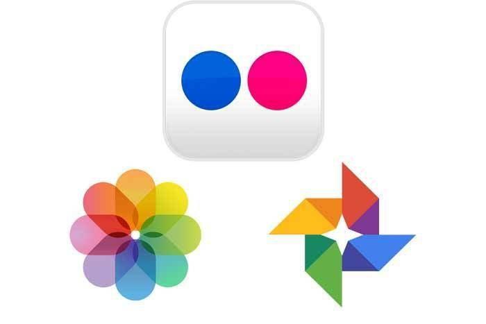 flick apple photos google