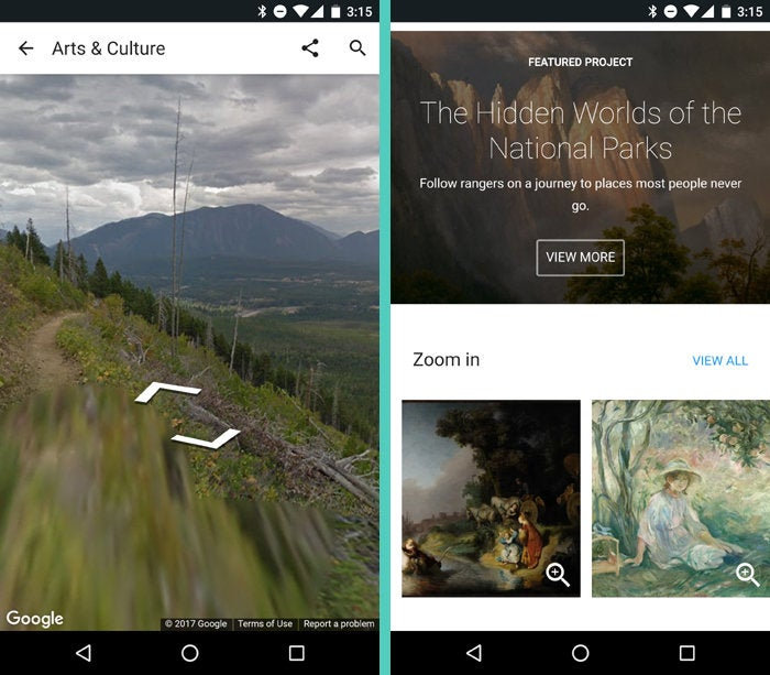 Google Android Apps: Google Arts and Culture