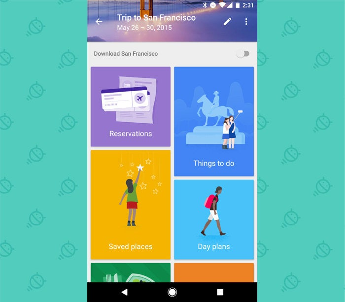 Google Android Apps: Google Trips