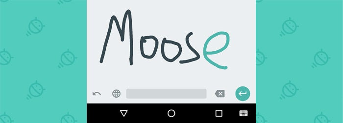 Google Android Apps: Handwriting Input