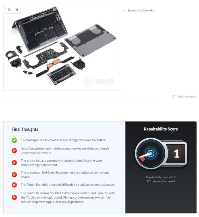 ifixit macbook pro 15