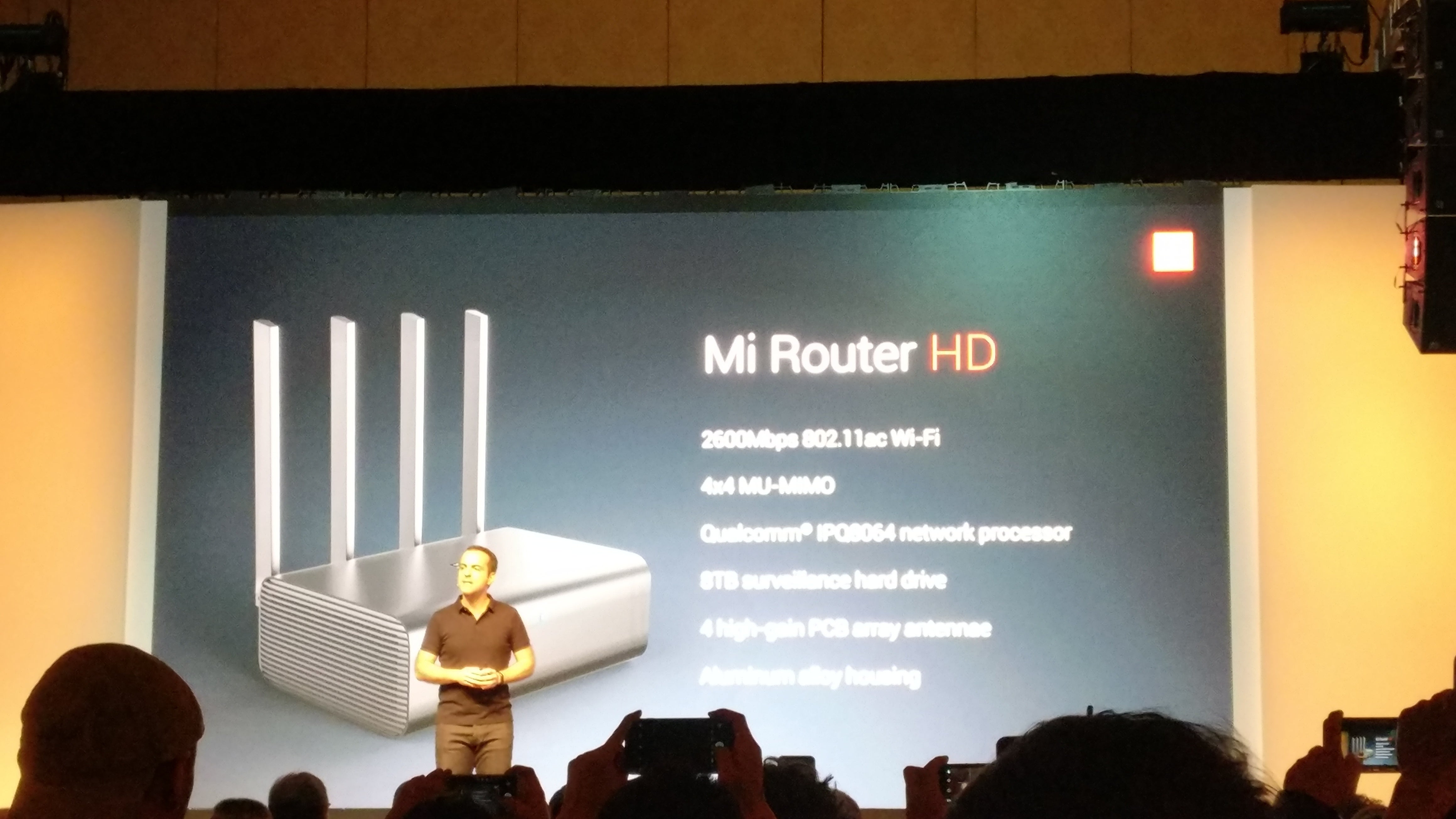 Xiaomi launches a new media router and an updated Mi TV 4, but just