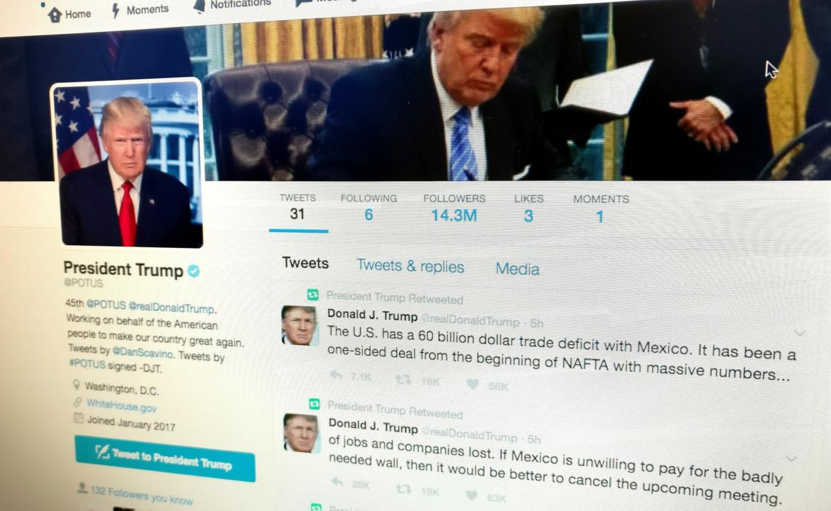 Twitter employee deleting POTUS account is a lesson for all of us