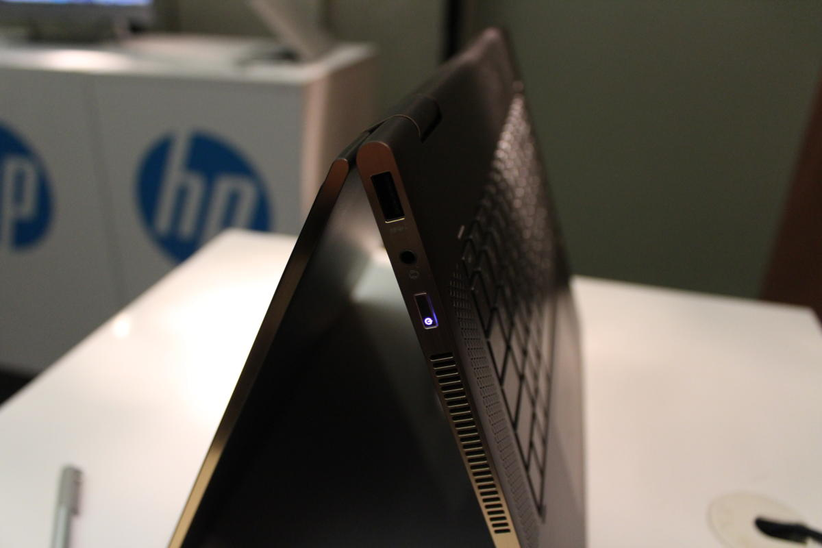 HP Spectre x360 15 2017 Side View 1