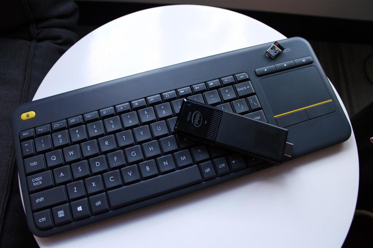 intel compute stick keyboard