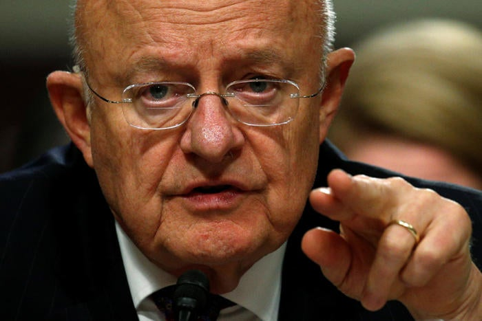 james clapper intelligence