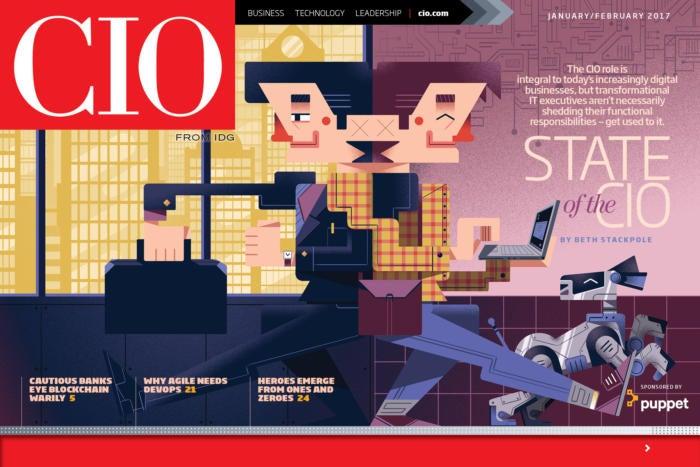 Cio Jan Feb Digital Magazine State Of The Cio 2017 Cio