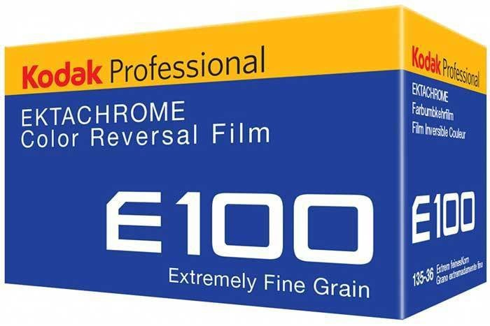 Kodak Ektachrome Color Reversal Film