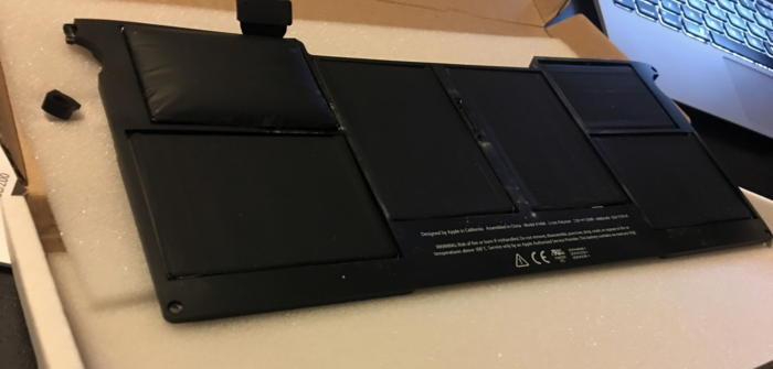 mac911 bulgy battery