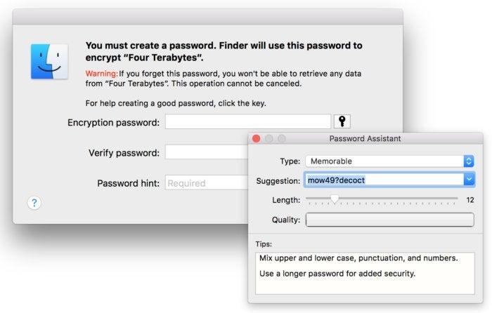 mac911 encrypt non startup drive