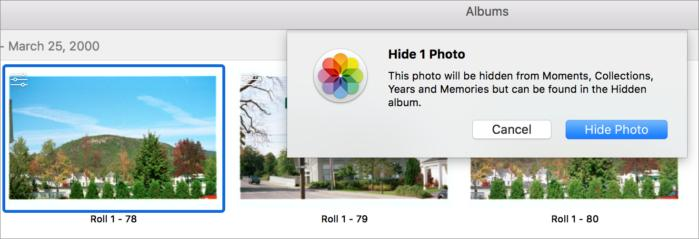 mac911 hide photos macos